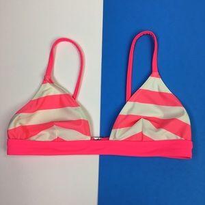 NEW Solid & Striped Bikini Top